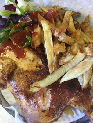 Half Chicken Platter